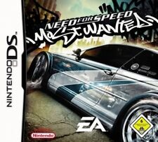 Nintendo DS 3ds Need For Speed Most Wanted alemán muy buen estado