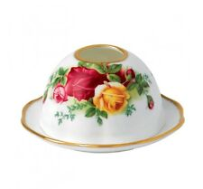 NIB ROYAL ALBERT OLD COUNTRY ROSES TEA LIGHT VOTIVE - GREAT GIFT!!!