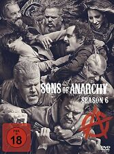 Sons of Anarchy - 6 Staffel-Season  - NEU OVP - 5 DVD Box - FSK 18