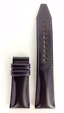 SEIKO GALANTE SBLA007 BLACK LEATHER WATCH STRAP 5R65 0AB0 BAND 24mm AUTHENTIC