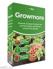 Vitax Growmore All Around Garden Flowers Lawn Plant Food Feed Fertiliser 1.25kg