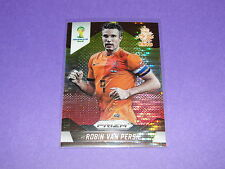 2014 Prizm World Cup ROBIN VAN PERSIE #35 Yellow/Red Pulsar SP Manchester United