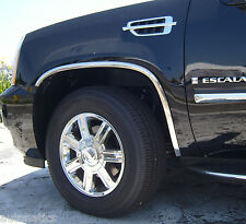 CADILLAC ESCALADE ESV 2007 - 2014 TFP Polished Stainless Steel Fender Trim