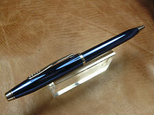CROSS CENTURY II TWIST ACTION BALLPOINT PEN QUARTZ BLUE LACQUER