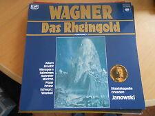 LP Wagner Das Rheingold Staatskapelle Dresden Janowski