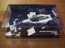 1/43 WILLIAMS RENAULT FW16 1994 Ayrton Senna Blanc écrit version