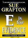 E Is for Evidence (Thorndike Famous Authors)-ExLibrary