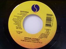 """MADONNA """"EXPRESS YOURSELF / THE LOOK OF LOVE"""" 45"""