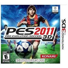 Pro Evolution Soccer 2011 3D (Nintendo 3DS, 2011) NEW FAST FREE SHIP USA ONLY