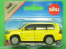 Siku Super Serie 1440 Toyota Landcruiser zinkgelb