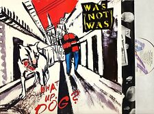WAS NOT WAS what up dog FV 41664 usa chrysalis 1988 with inner LP PS EX+/EX