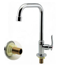 New Single Hole Chrome Water Tap Basin Kitchen Bath Wash Basin Faucet