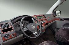 Cockpitdekor für VW T5 ab 2010 Wurzelholzdesign 38 tlg.
