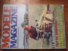 $$v Revue modele magazine N°323 FK3 Risbourg  Racer FAI  Hurricane Reeves