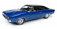 1968 Dodge Charger Hardtop Christine blau in 1:18 Auto World ERTL AWSS111 blue