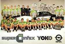 Team SUPERCONFEX 88 Cycling wieler ciclismo cyclisme VanHooydong LUDO PEETERS