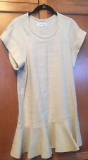 Isabel Marant Size FR 38/US 6  GEMMA BOURETTE Beige Drop Waist Linen Dress