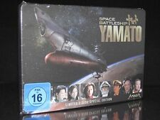 DVD SPACE BATTLESHIP YAMATO - STEELBOOK - LIMITED SPECIAL EDITION 2 DISC SET NEU