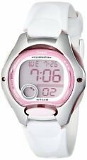 Casio LW200-7A Women's White Resin Band Alarm Chronograph Digital Sports Watch