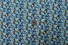 William Morris Leicester Blue 100% Cotton Quilting Craft Sewing OOP Fabric BTHY