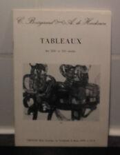 Catalogue Vente 1979 Drouot Rive Gauche Tableaux XIXè & XXèCommissaires Priseurs