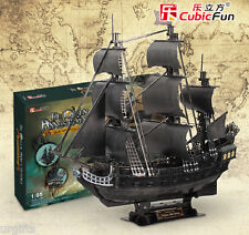 3D Puzzle Model Pirates Ship Boat Jack Sparrow Black Pearl Caribbean Large