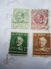 IRELAND 1943 USED 2 SETS OF 4 S G 129-132 C V £ 6.25.  17/093