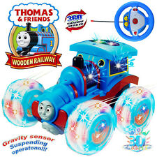 THOMAS THE TANK & FRIENDS 360 SPIN RC CAR RADIO REMOTE CONTROL TRAIN KID LED TOY