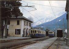 """4233) STAZIONE DI RE (VERBANIA) ELETTROMOTRICE (TRENO) """"VERBANO""""."""