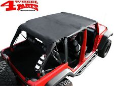 Safari Header Bikini Top Verdeck Black Diamond Jeep Wrangler JK Bj 07-09 4-Türer