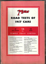 Motor Road Test Annual 1957 Austin Berkeley Isetta Fiat Ford Lagonda Simca TR3 +