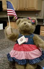 New Boyds Bear QVC Dolly B. Doodlebear  - Sings Yankee Doodle!!