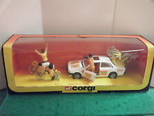 "Corgi No: 13 ""Tour De France Peugeot 505 Gift Set"" - (Original 1981)"