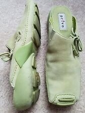 Privo by Clarks Sporty Mule Women size 6 m Green leather