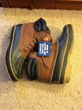 OZARK TRAIL PIKE 6  LEATHER BOOTS SIZE 8 EURO 41.5 STEEL SHANK NEW WITH TAGS