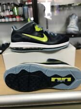 Nike Lebron 9 Low Obsidian/Cyber-White-Blue-Grey Size 9.5 (510811-401)