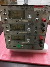 Power Designs TP340A Triple Output Regulated DC Power Supply 0-32V Tested