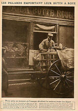 ROYE MAGASIN CHAUSSURES A LA BOTTE ROUGE IMAGE 1917 ?