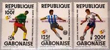 GABON GABUN 1982 833-35 516-18 Soccer World Cup Winner ovp Fußball WM gewinn MNH