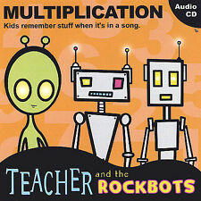 Teacher and the Rockabots: Multiplication  Audio CD