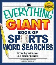 The Everything Giant Book of Sports Word Searches : Score Big with over 300 All-