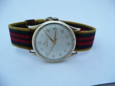 Original Mens 1960s RARA 9ct GOLD RECORD Longines Gents Swiss Watch cal640 fwo
