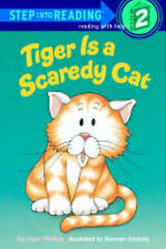 Tiger Is A Scaredy Cat (Step Into Reading: A Step 2 Book)-ExLibrary