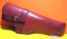 OLD & FANTASTIC H H HEISER Leather Pistol Gun Holster AWESOME PATINA MAKE OFFER