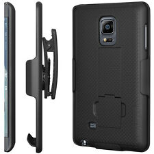 For Samsung Galaxy Note Edge Defender Style Case Belt Clip & Holster Shock Proof