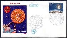 MONACO FDC 1965 - CENTENAIRE DE L'UIT 665 - pn10