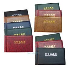30Paper Money BankNote Holder Collection Album Collecting Storage Pockets Wallet