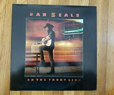 Dan Seals  On The Front Line EMI PW-17231NM Vinyl LP NM record Cover Beauty