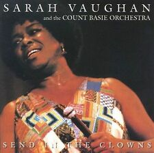 Send in the Clowns [Pablo] by Count Basie Orchestra/Sarah Vaughan (CD,...