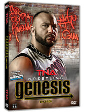 Official TNA Impact Wrestling - Genesis 2013 Event DVD (2 Disc Set)